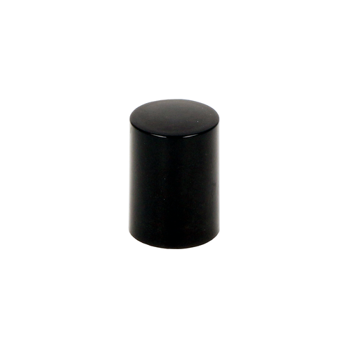 Black Tall Rollette Cap