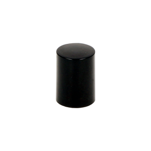 Black Tall Rollette Bottle Cap