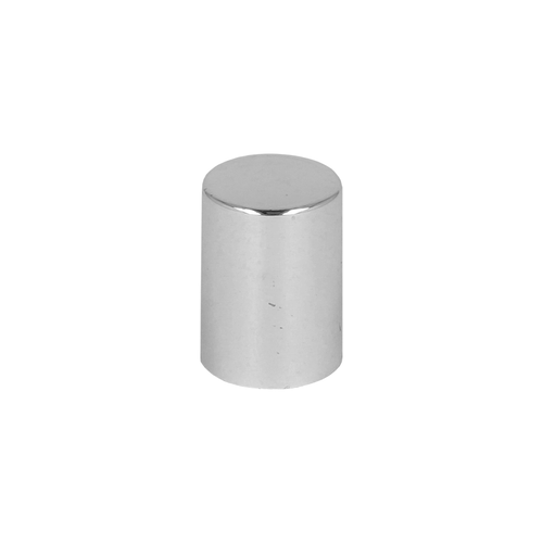Silver Tall Rollette Cap