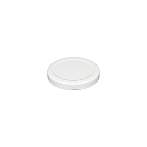 White Glass Jar Lid