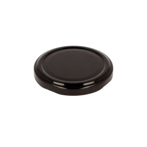 Black Jam Jar Lid