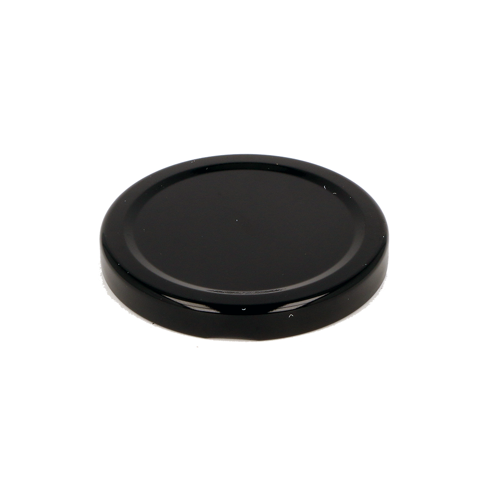 Jam Jar Lid in Black