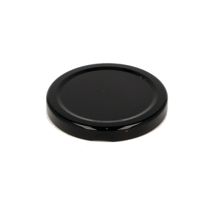 Glass Jar Lid in Black