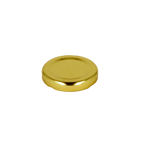 Glass Jar Lid Gold