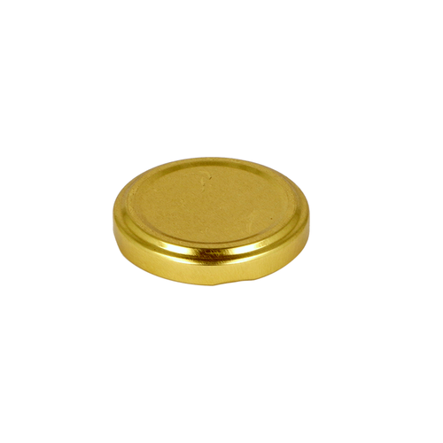 Gold Lid for Glass Jar
