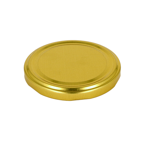 Glass Jars Lid Gold
