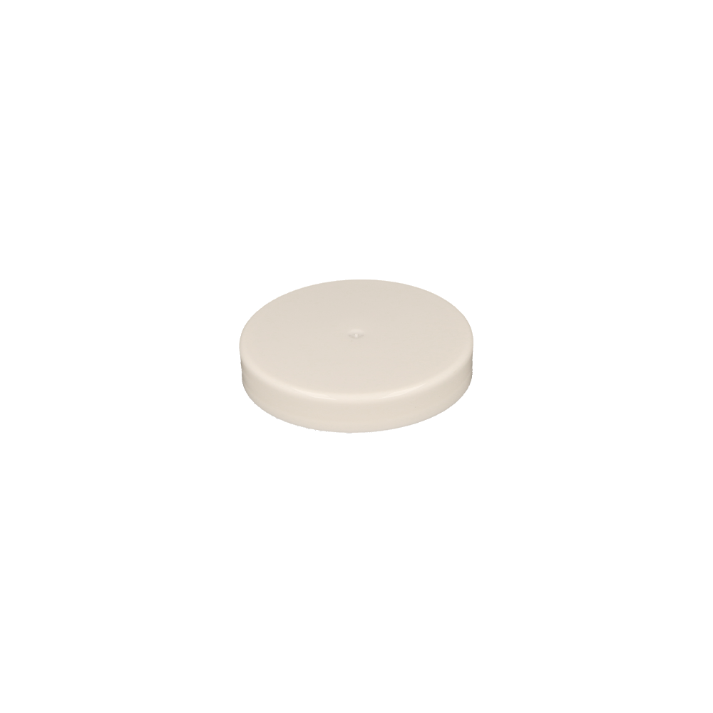 70mm White Plastic Honey Jar Lid