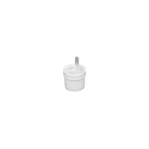 White Dripper Cap