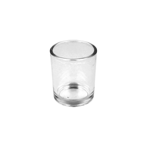 5cl Clear Gabrielle Candle Glass