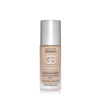 Exuviance CoverBlend Skin Caring Foudnation With SPF20 30ml - Arden Skincare Ltd.