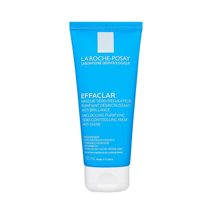 La Roche-Posay Effaclar Unclogging Purifying Sebo-Regulating Clay Mask 100ml - Arden Skincare Ltd.