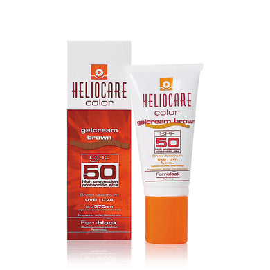 Heliocare Colour Gelcream Brown SPF50 50ml - Arden Skincare Ltd.