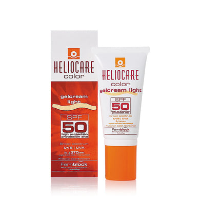 Heliocare Colour Gelcream Light SPF50 50ml - Arden Skincare Ltd.