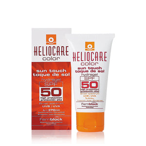 Heliocare Colour Sun Touch Hydragel SPF50 50ml - Arden Skincare Ltd.