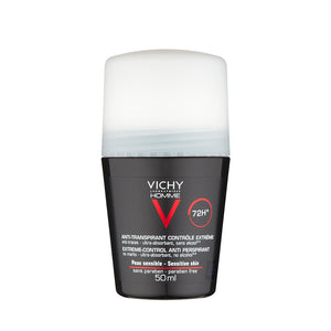 Vichy Homme 72Hr Extreme Anti-Perspirant Roll On 50ml - Arden Skincare Ltd.