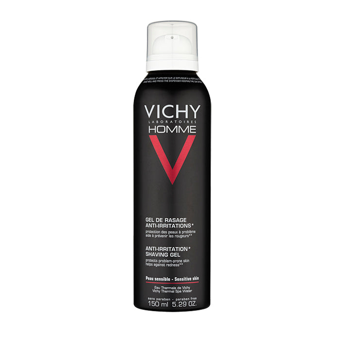 Vichy Homme Anti-Irritation Shaving Gel 150ml - Arden Skincare Ltd.