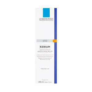 LA Roche-Posay Kerium Cream Shampoo For Dry Hair 200ml - Arden Skincare