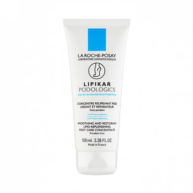 La Roche-Posay Lipikar Podologics Lipid-Replenishing Foot Care 100ml - Arden Skincare Ltd.