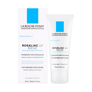La Roche-Posay Rosaliac UV Riche Anti-Redness Moisturiser 40ml - Arden Skincare Ltd.