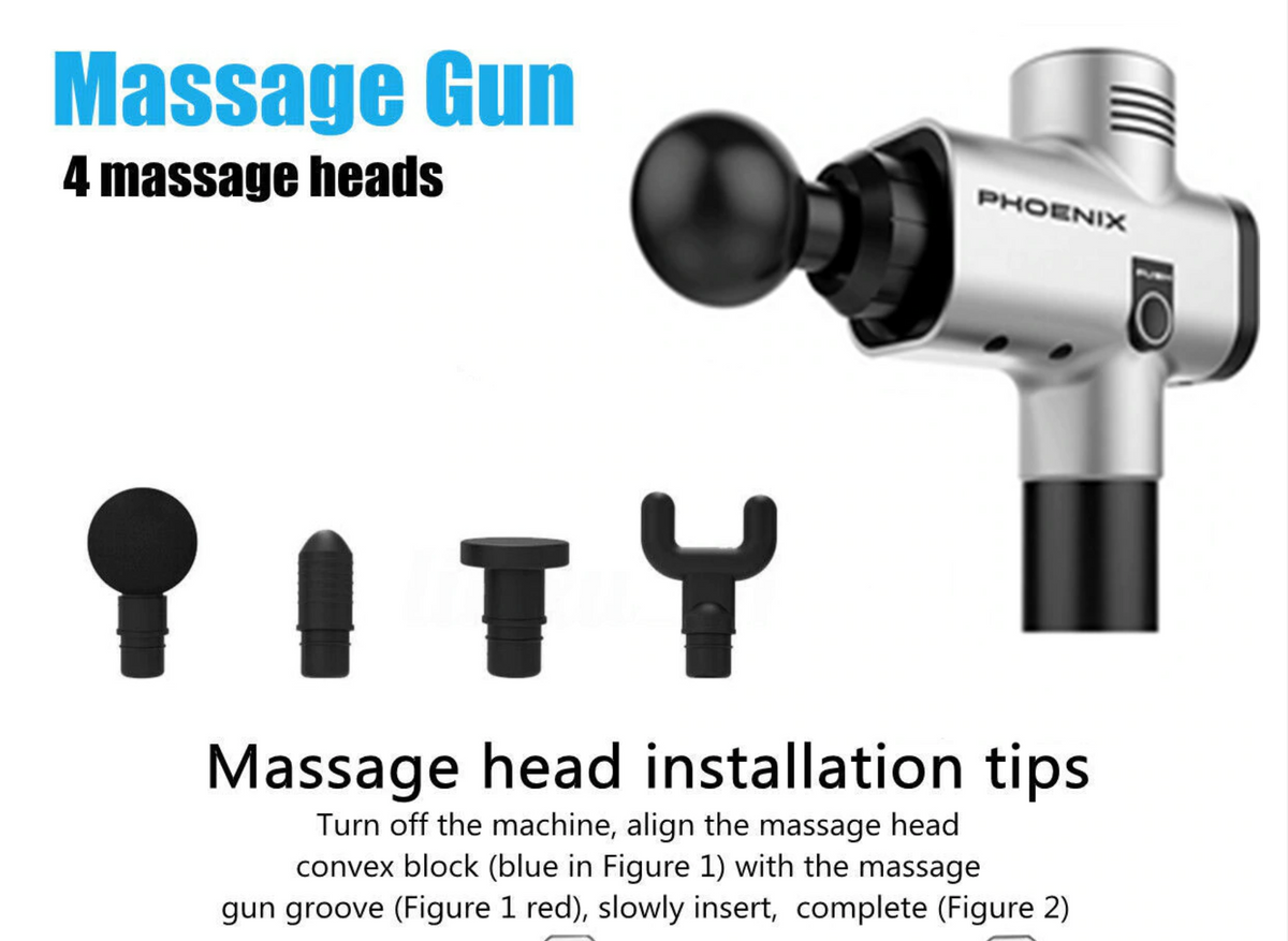 Phoenix Muscle Massage Gun Deep Tissue Massager