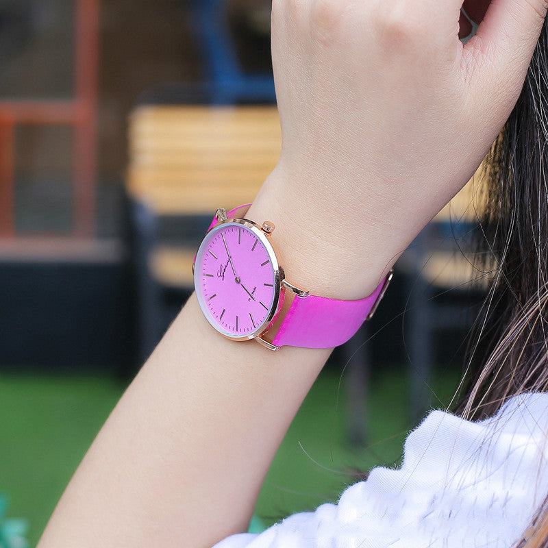 LUMIWATCH™ COLOR-CHANGING UV SUNLIGHT WATCH