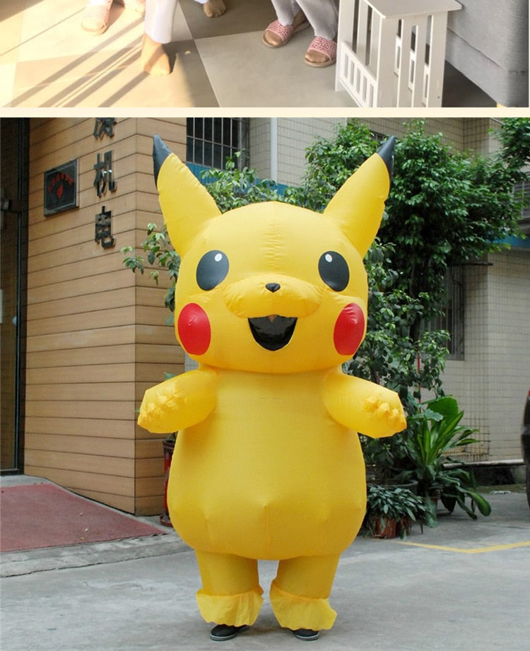 light monster Inflatable Costume Cosplay