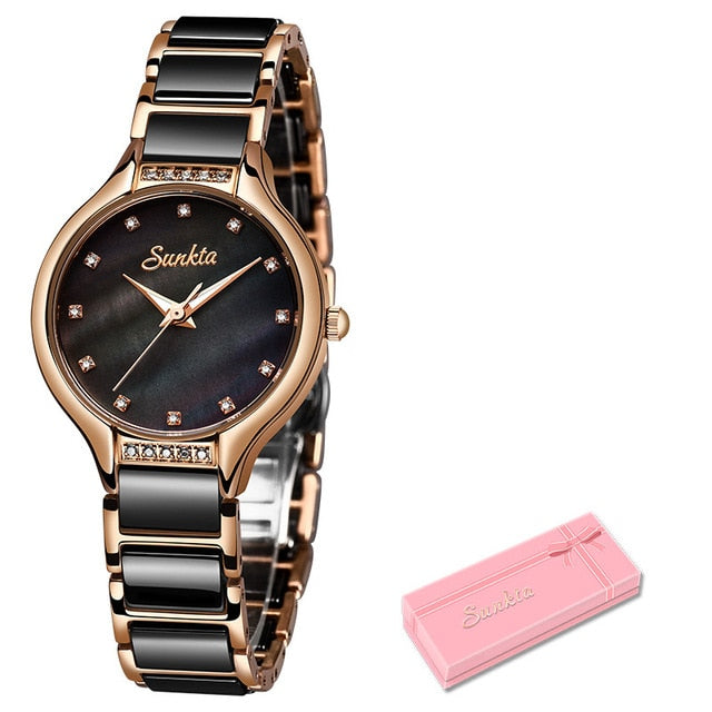 SUNKTA New Women's Watches