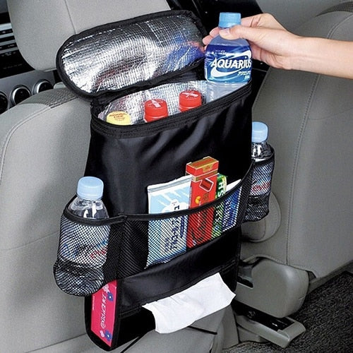 Backseat Multi-Pocket Storage Bag