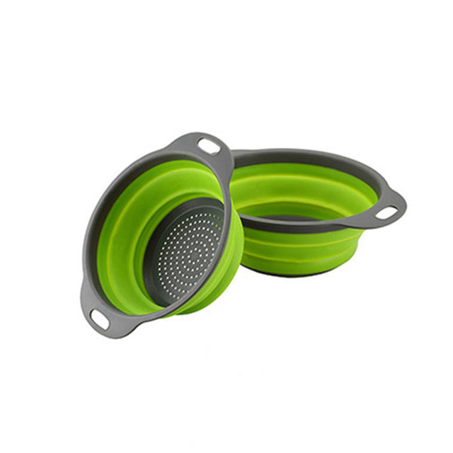 Silicone Folding Drain Basket