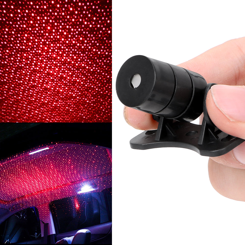 FREE Mini USB Led Car Atmosphere Star Projector 2019!