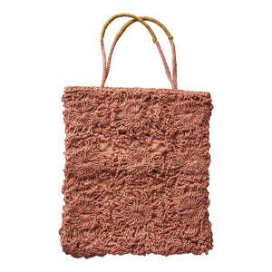 Load image into Gallery viewer, Sage and Clare Gracie Crochet Tote