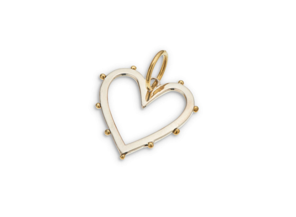 Load image into Gallery viewer, Palas Open Heart Charm