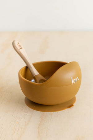 Silicone Bowl +Spoon