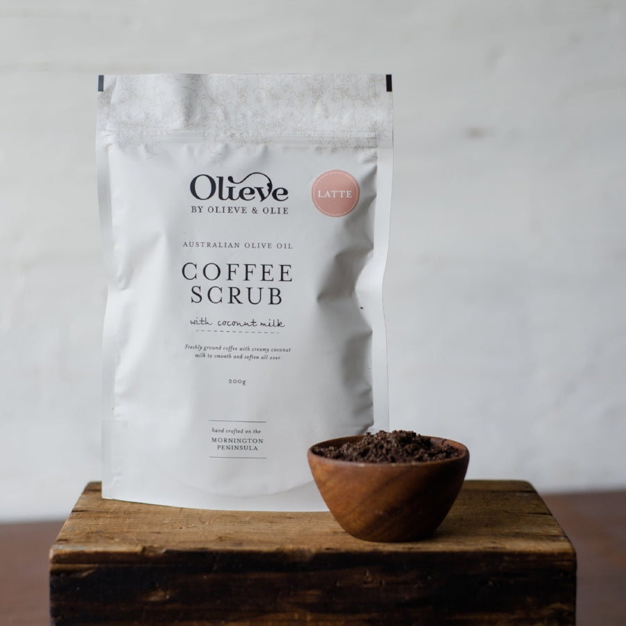 Olieve & Olie . Latte Coffee Scrub