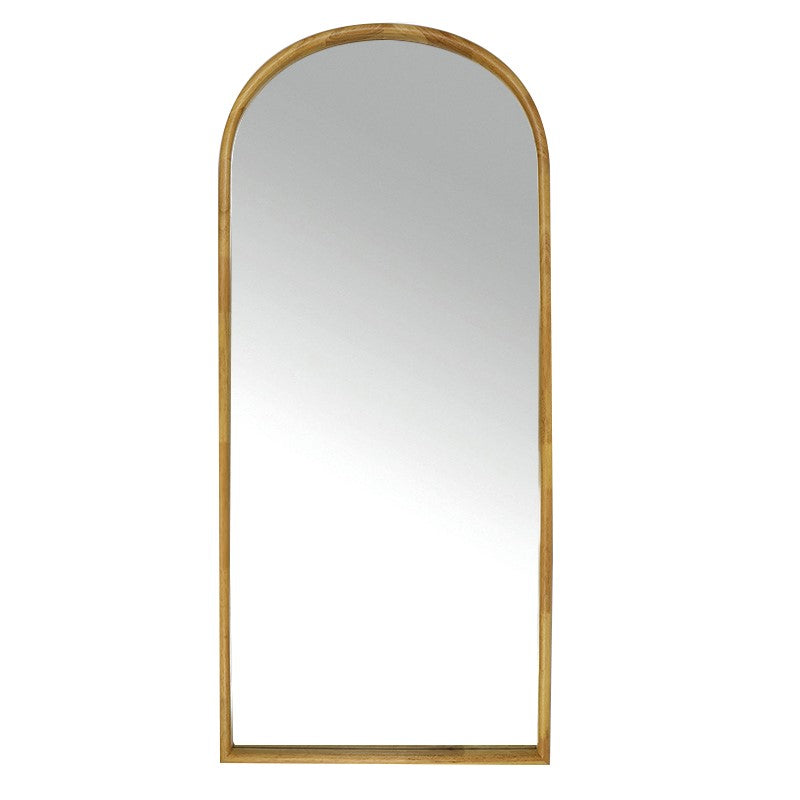 Inga Oak Arch Mirror
