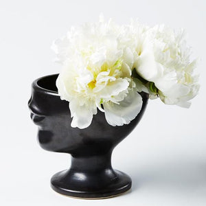 Load image into Gallery viewer, Simone Vase Black
