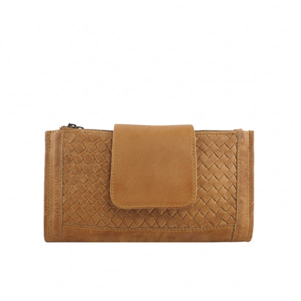 Prato  Leather Wallet Cognac
