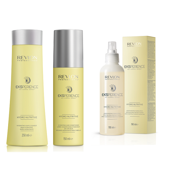Eksperience Hydro Nutritive  Cleanser, Conditioner & Keratin Spray - Ascari Salons North Sydney