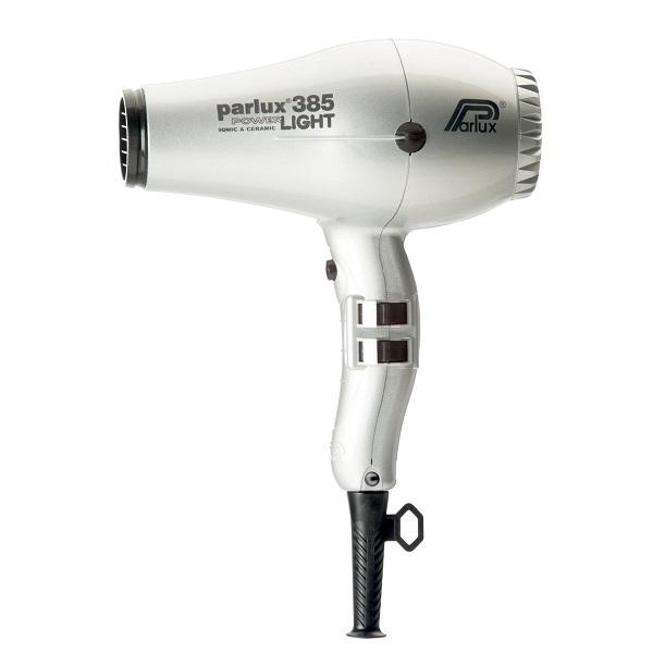 Parlux 385 Powerlight Ceramic & Ionic Dryer 2150W - Silver