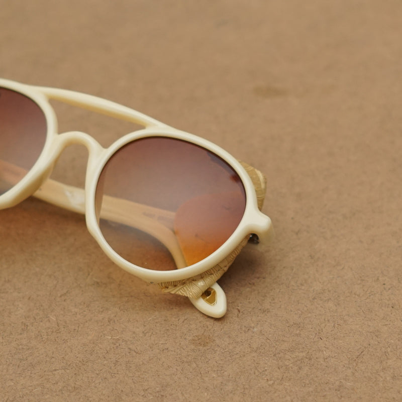 Cream Brown Hunter Sunglasses For True Alphas For Men And Women