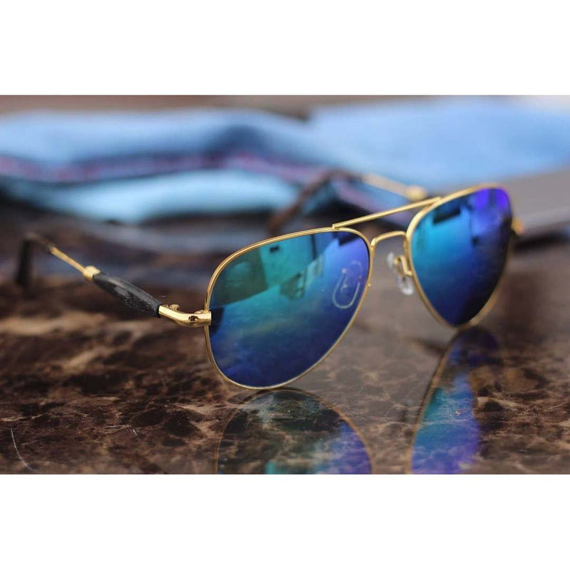 Antique Blue Mercury Shade Stylish high quality Sunglasses