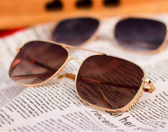 Brown Dual Shade Extream Designer unisex Sunglasses one year warranty