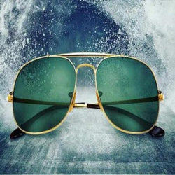 Antique Bottle green Stylish high quality Sunglasses
