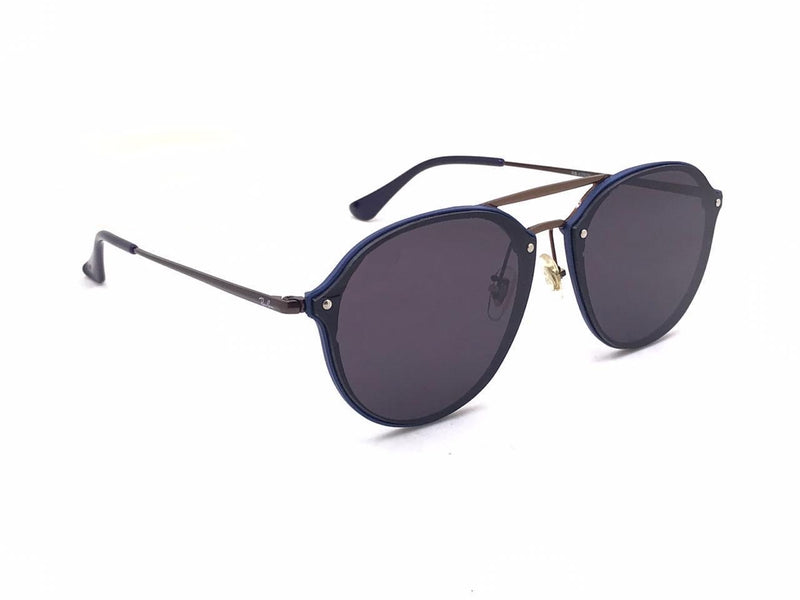 Black And Brown R4292 Round Unisex Sunglasses