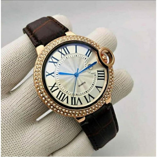 Analog time & date  slim Dial Mens and boys Watch