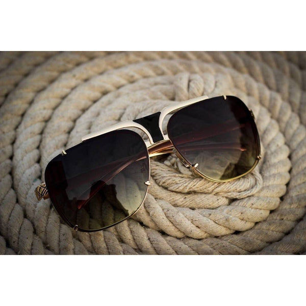 New Stylish oversize dual shade sunglasses