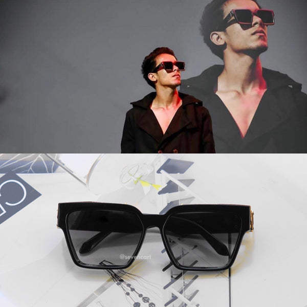 ASTROINER BLACK SUNGLASSES