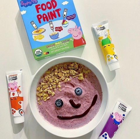 Food paint for kids