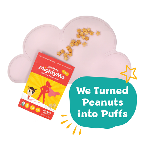 We turned peanuts into puffs!
