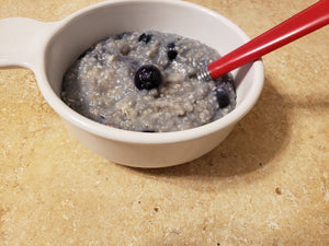 Quick Blueberry Buckwheat Breakfast